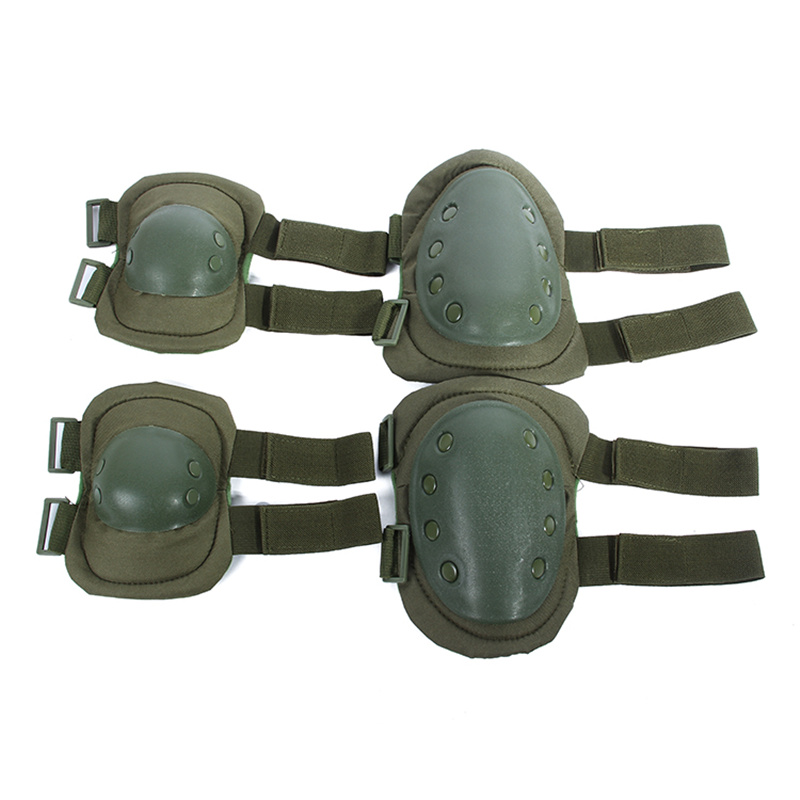 Prix pour Amoureux militaires Paintball Airsoft Combat De Protection Uniforme Pantalon Genou Tactique et Elbow Protector Pads Set GENOU et COUDIÈRES