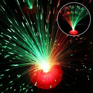 Image 2 - 8 patterns of gradient color LED fiber optic night light indoor decoration childrens holiday gift