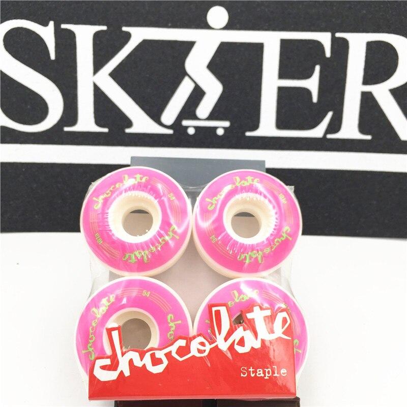 Image 2 - USA BRAND PRO 4pcs/set Wheel Skates Kaykay Board Wheels 51 55mm PU Skateboard Wheels Skate Board Wheels Patins Adulto Rodas-in Skate Board from Sports & Entertainment