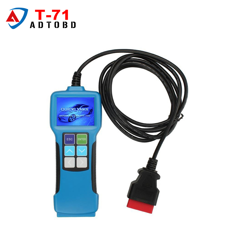 2017 Newest Truck Diagnostic Tool T71 For Heavy Truck And Bus OBD2 Code Reader With J1939 J1587 1708 Protocol free shipping
