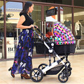 Hot High Landscape Baby Buggy Four Wheels Folding Poussette Baby Stroller Pram for Newborn Infant Toddler Carriage Pushchair