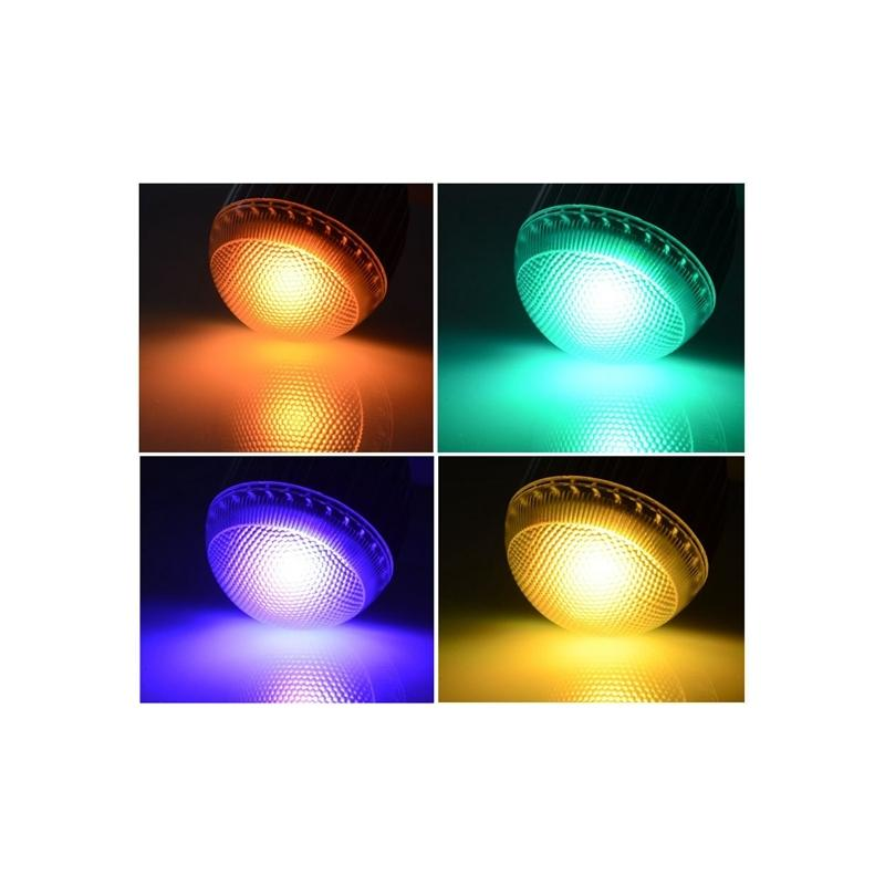LumiParty RGB Led Lamp 16 Kleur Bulb Verwisselbare Lamp meerdere ...
