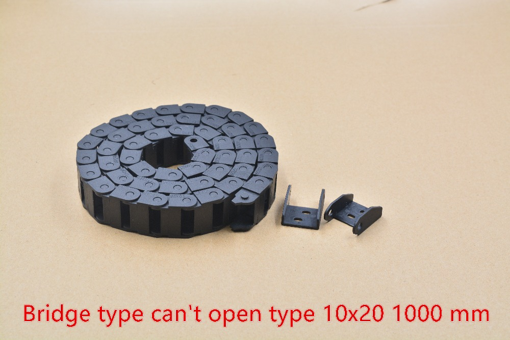 Мостового типа не может открыть пластиковые 10 мм х 20 мм сопротивления цепи с коннекторами L 1000 мм гравировка машина кабель для чпу 1 шт.