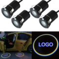 1pair Car Professional Auto LED Laser Logo Step Lamps Ghost Shadow Courtesy Door Light Projector