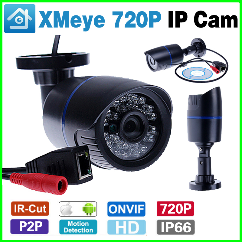 Countdown Sale!Xmeye App 720P 960p Security Network CCTV 1.0 1.3Megapixel HD Digita Ip Camera  ONVIF Outdoor Waterproof ip66 IR 720p hd ip camera poe onvif 3 6mm lens ir cctv security surveillance camera 1 0mp network dome cameras xmeye app xmeye view