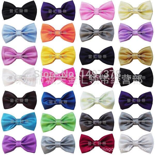 2015 Gentleman Wedding Party Tuxedo Marriage  Cravat New Men Bright Color Bow Tie Adjustable Business Bowties For Gifts