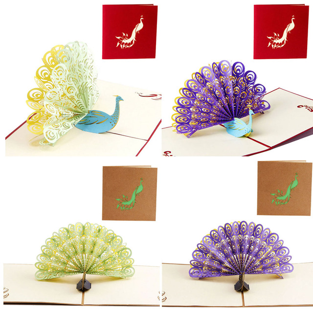 S home beautiful design 3d pop up greeting card handmade peacock s home beautiful design 3d pop up greeting card handmade peacock birthday easter anniversary day m4hsunfo