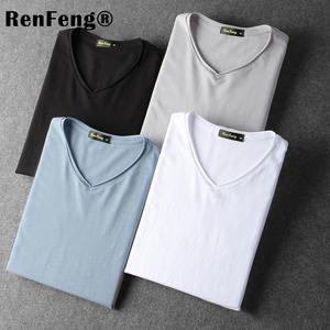 fe0020fa6aab renfeng T Shirt 2018 Man Long Sleeve T-Shirt Male tshirt