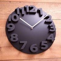 New fashion 3D wall clock modern design Art Decorative Dome Round Watch Bell clocks home decor birthday gifts