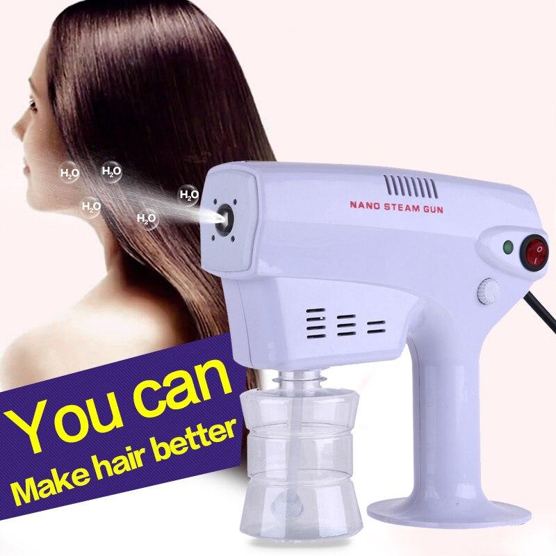 Профессиональный салон для укладки волос Электрический нано паровой многофункциональный уход за волосами Уход за лицом спрей вода увлажняющая лечебная машина