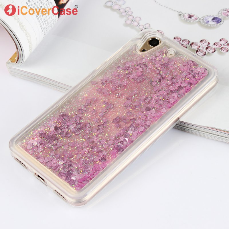 Liquid-Case Back-Cover Mobile-Phone-Case Huawei Y6 Shining Glitter Soft-Silicone Luxury