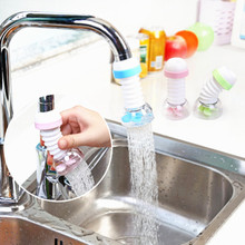 Kitchen Bathroom Tools Faucet Splash Shower Baby Washer Elongable Spray Water Saver Rotary Filter