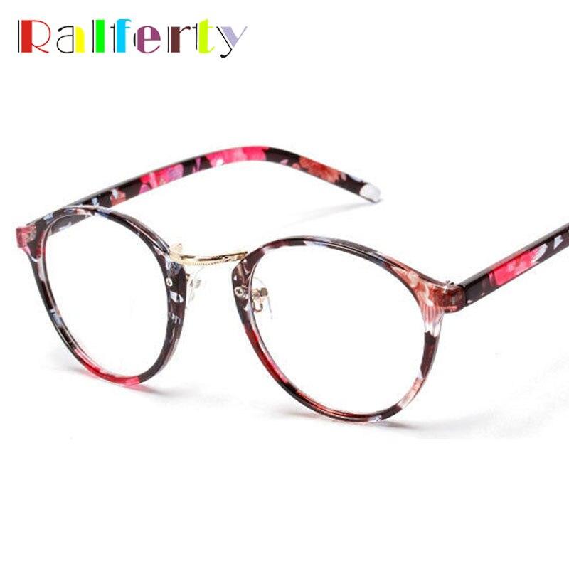 Alta Qualidade Rodada Óculos Com a Lente Clara, Armações de Óculos de olho  para As Mulheres Óptica Quadro Óculos oculos de grau feminino 137 4632a5591e
