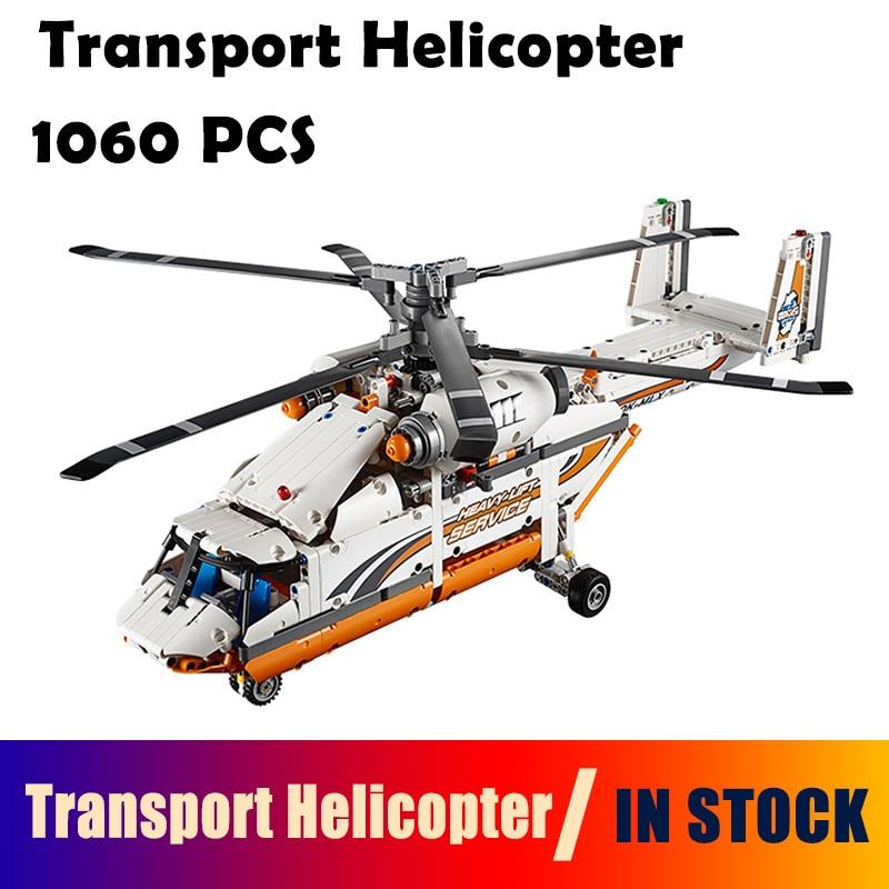 Здесь продается  20002 Technic Series 1060pcs Double rotor transport helicopter Model Building blocks Bricks Compatible with lego technic 42052  Игрушки и Хобби
