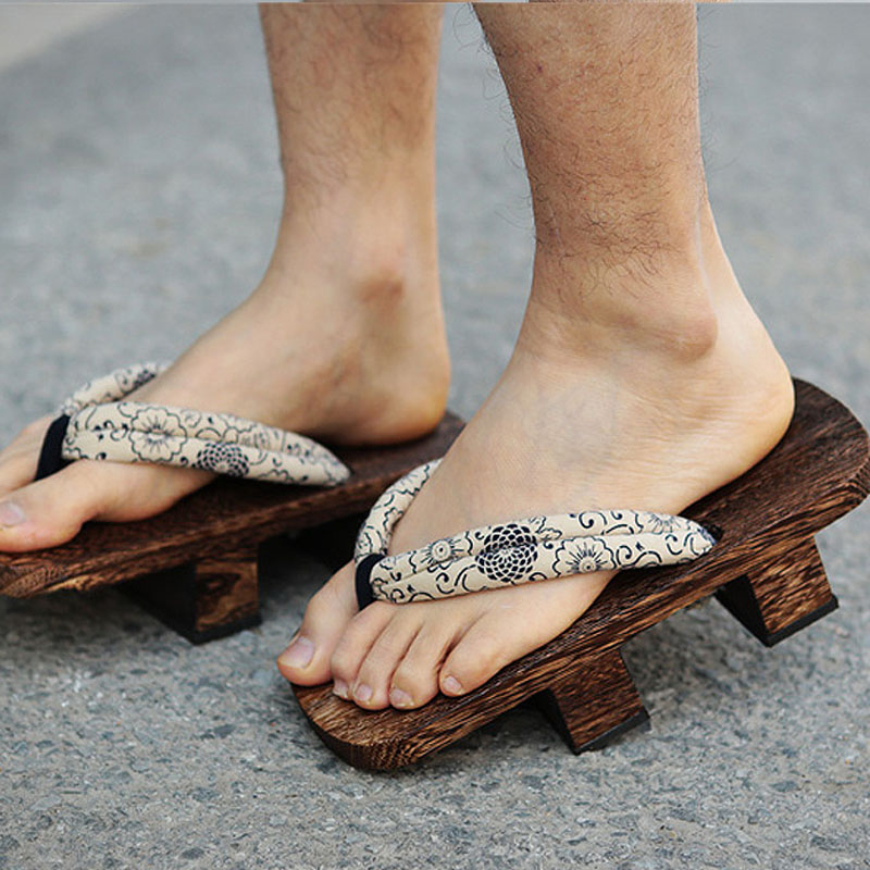 Japanese Summer Wooden Geta Clogs