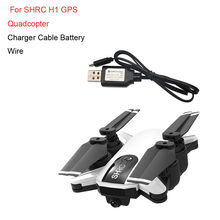 Hiinst 7.4 V USB Kabel Charger Battery Wire untuk Shrc H1 GPS RC Quadcopter 19APR30 P35(China)