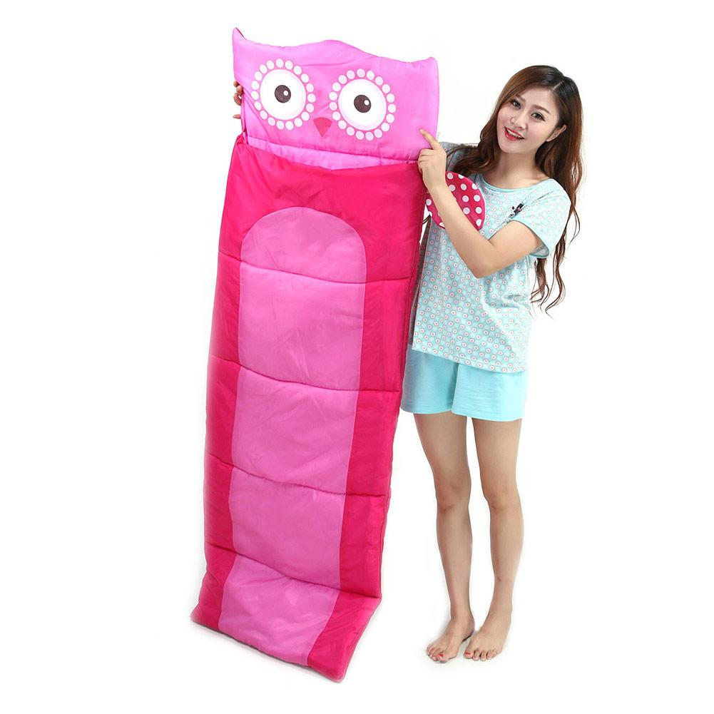 Ultralight Children Sleeping Bag Camping Sleeping Bag For Cartoon Pattern Child Sleeping Bag Outdoors Noon Break Sleeping Bag