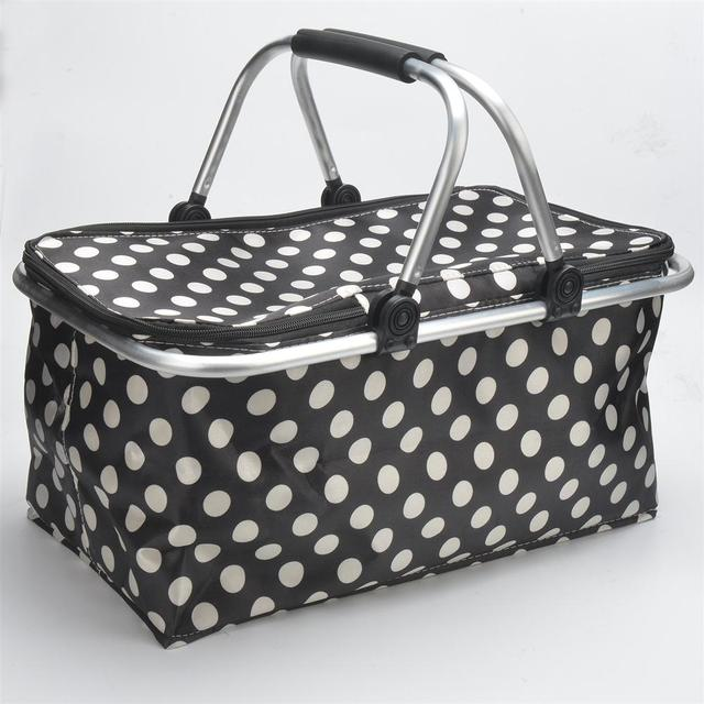 New Large Insulated Thermal Adults Lunch Bag Multifunction Cooler picnic bag CampingTote Storage oxford tin