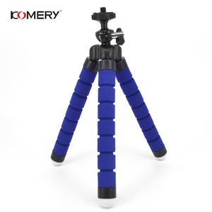 Image 2 - KOMERY Mini Flexible Sponge Octopus Tripod For iPhone Xiaomi Huawei Smartphone Tripod for Gopro Camera With Phone Clip Holder