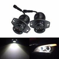 ANGRONG For BMW E90 E91 3 Series HeadLight LED 20W Angel Eye Halo Ring Light Bulb White(CA214)