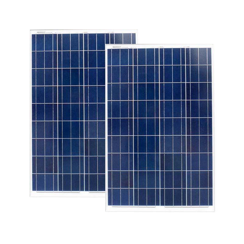 solar panel 2 100w poly