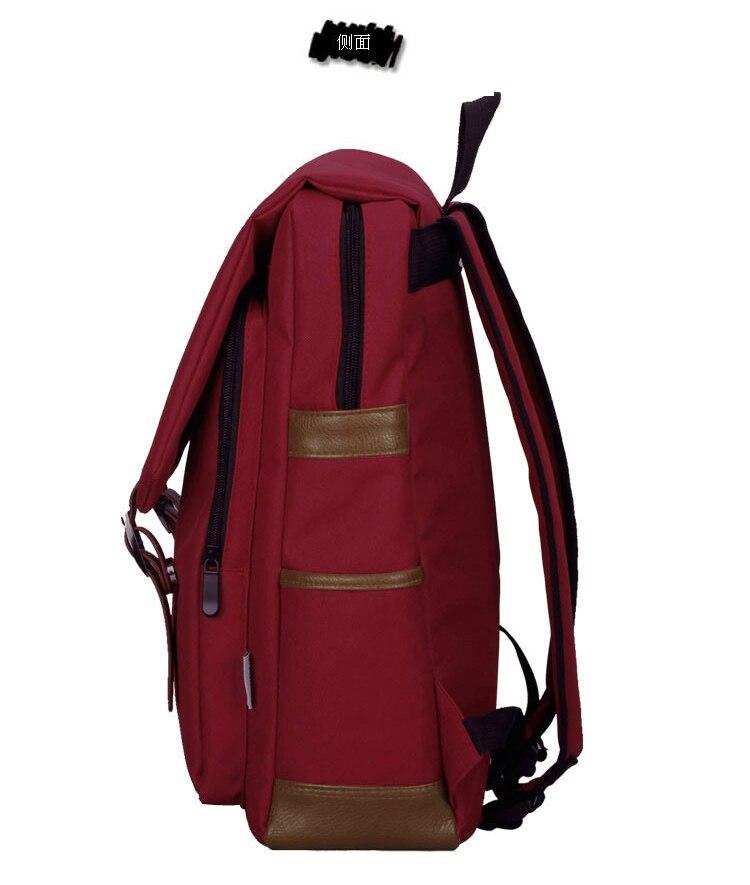 canvas 4 colors Harri Potter Souvenirs backpack Gryffindor Slytherin Symbol Bags schoolbag for girl boy men red green
