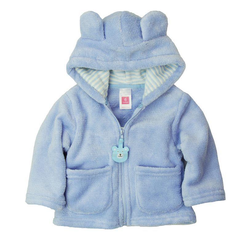 2014-spring-autumn-Coral-velvet-baby-jacketcoat-long-sleeved-hooded-infant-boy-girl-carter-thick-tops-2