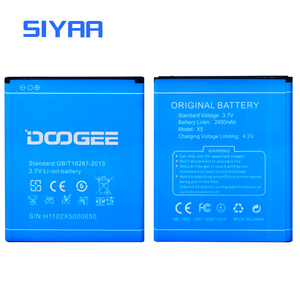 Image 2 - Original Mobile Phone Battery For Doogee X5 Batteries 2400mAh 3.7V Li ion Battery Rechargeable Bateria High Quality