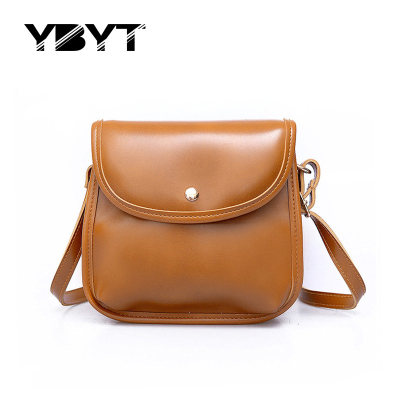 YBYT brand 2017 new simple casual solid flap hotsale ladies cell phone coin purses women mini shoulder messenger crossbody bags  недорого