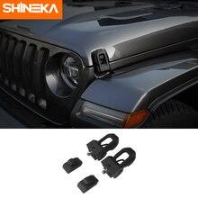 Shineka Чехлы для двигателя jeep wrangler jl защелка капота