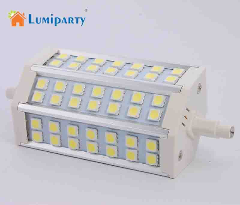 Led Bulbs & Tubes Lumiparty 1x R7s Led Lamp 42 Leds 10w 5050 Smd 760-780lm 118mm 85-265v Ac Corn Bulb Spotlight Replace Halogen Floodlight Led Light Bulbs
