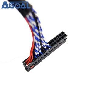 Image 3 - 400mm LVDS 케이블 FIX 30P D8 1ch 8 비트 30 핀 30 핀 단일 8 라인 26 47 인치 대형 스크린 패널 2 모델 무료 배송