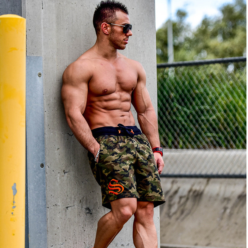 Man Shorts Mens Short Trousers 2018 Casual Calf-Length Jogger Men Shorts Sweatpants Fitness Man Workout Cotton Shorts