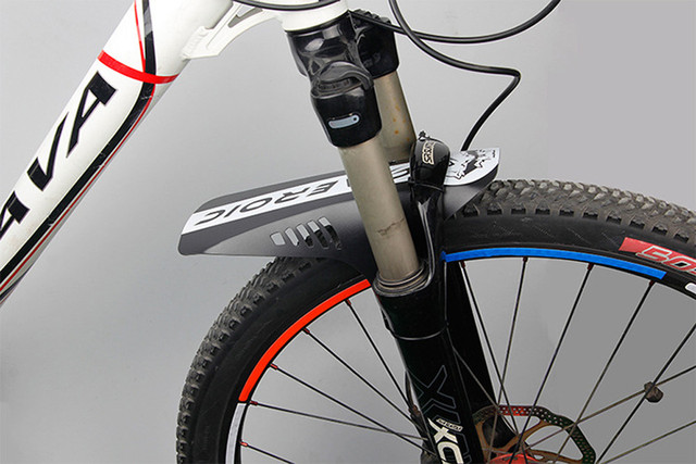 Front bike mudguard