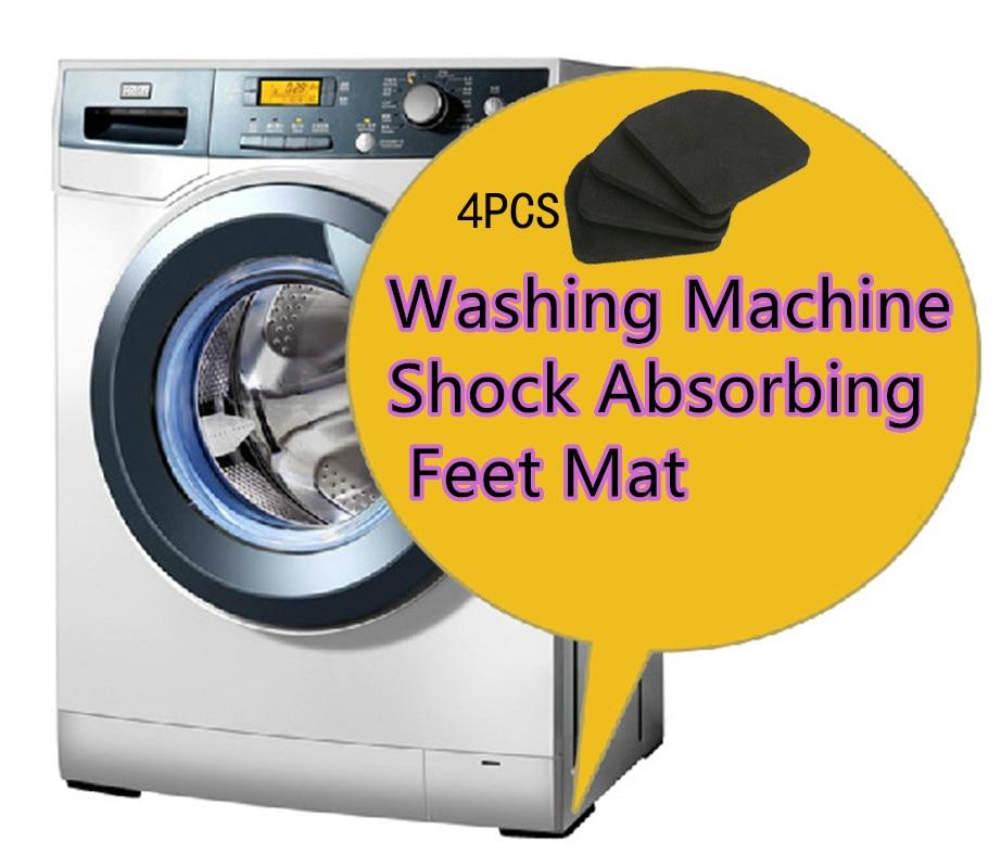 4PCS/Set EVA Anti-Vibration 77x77x7mm Rubber Legs Non-Slip Pads Refrigerator Chair Desk Washing Machine Shock Absorbing Feet Mat