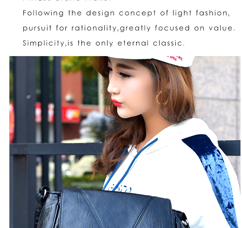 18 Women Messenger Bags Crossbody Soft Leather Shoulder Female Bag Flap Bolsa Feminina Designer Handbags High Quality Brand 7
