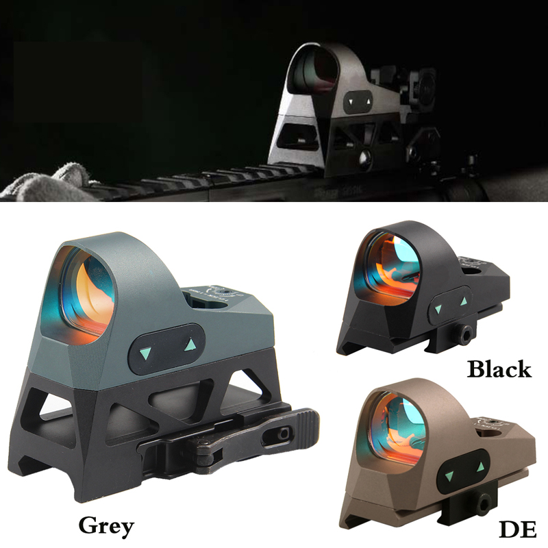 3MOA Red Dot Sight Scope Riflescope With Two Mounts for Tactical Hunting 20MM Rail Mount RL5