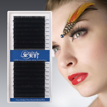 3D Eyelash Extension 0.03-0.25 Thickness Individual Korea Silk Volume Eyelashes 16 Rows Eye Lashes Make Up