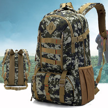 6 Color Unisex Sports Bag Hunting Backpack Military Tactical Rucksack Outdoor Bags Waterproof 50L Travel Backpacks