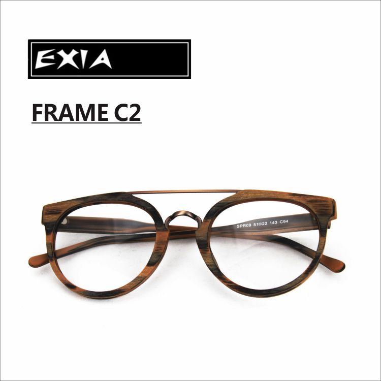 c8c1d8514f8 Glasses Frames Acetate High Quality Design Unisex Can be with RX Ophthalmic  Lenses EXIA OPTICAL KD-37 Series