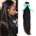 9A Peruvian Virgin Hair Straight weave 5 Bundles straight remy hair Cheap Peruvian straight hair human hair weaving THICK,SOFT