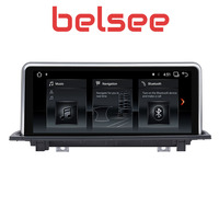 Belsee PX6 6 Core 10.25 Android 8.1 touch screen GPS Navigation Car PC Radio Head Unit Stereo for BMW X1 F48 2016 2017 iDrive