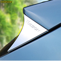 Chromed Rear Spoiler Trim Cover For Hyundai Tucson Accessories 2015 2016 2017