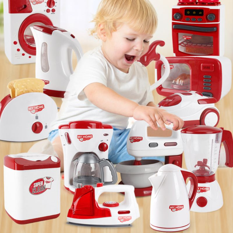 Simulation Pretend Play Electric Juicer Kitchen Appliance Children Home Housework Funny Toys Gifts