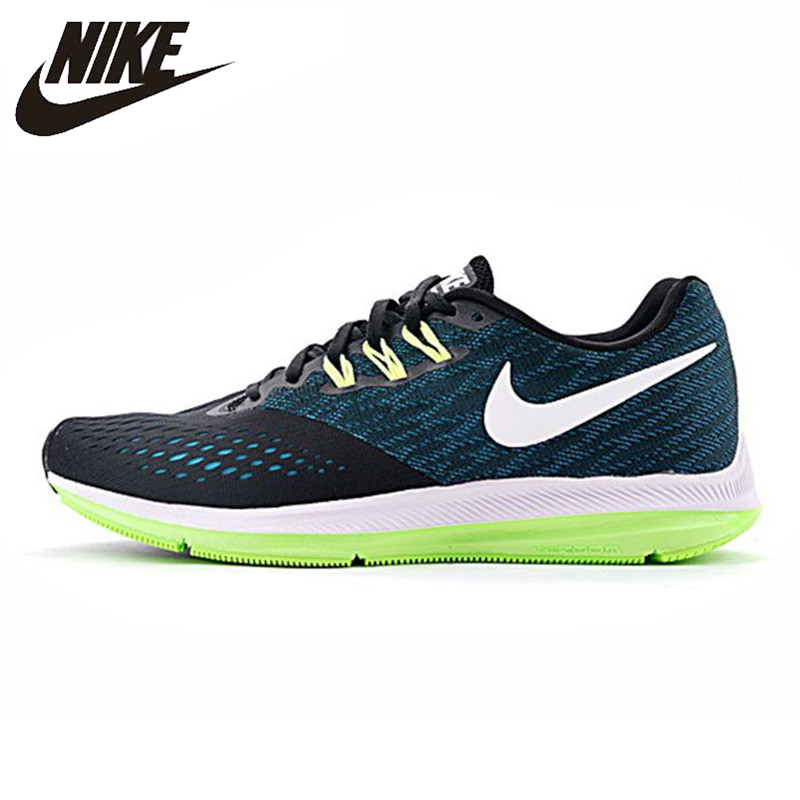 b1873f49b41 ... australia nike zoom winflo 4 shield mens running shoes breathable  wearable non slip lightweight sneakers 898466