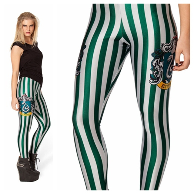 2017 New Fashion Slim Leggings 3D Printed Black Milk Pencil Skinny Leggins Female Super Stretch Pants mujer