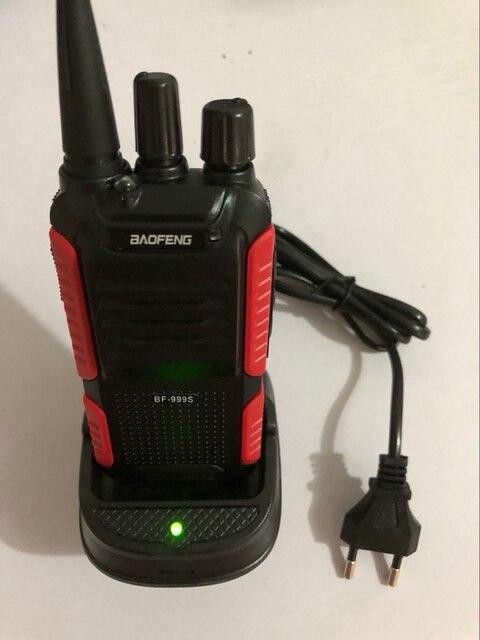 2018 החדש Baofeng BF 999s ווקי טוקי 400 470mhz UHF רדיו חם 16Ch נייד CB רדיו מכשירי קשר עבור ציד