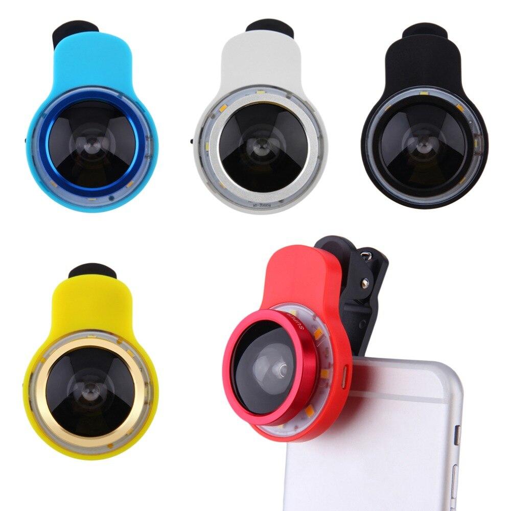 8LED 3 5mm Jack Smart Cellphone Selfie LED Camera Flash Light For Android Brand hot