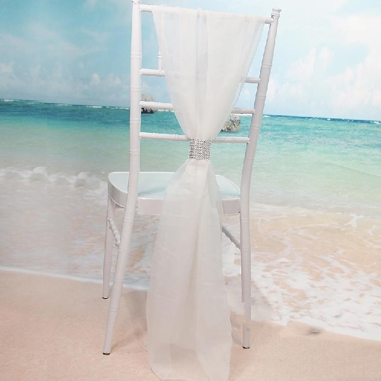 Karrige me pllaka të bardha me shirita Diamantë byrynxhyk byrynxhyk - Furnizimet e partisë - Foto 1
