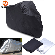 POSSBAY M/L/XL/XXL/XXXL Universal Motorcycle Cover Waterproof Outdoor UV Protector Rain Dustproof Covers for Motor Bike Covers